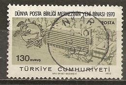 Turquie Turkey 1970 UPU Obl - 1921-... République