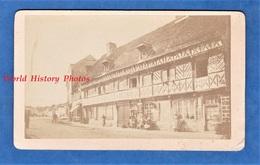 Photo Ancienne CDV Avant 1900 - SAINT VALERY EN CAUX ? - Maison Henri IV ? - Architecte Histoire Patrimoine - Anciennes (Av. 1900)
