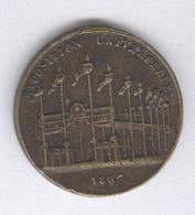 Jeton Exposition Universelle 1867 - Napoléon III - Zonder Classificatie