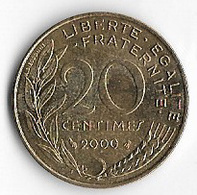 France 2000 20 Centimes [C068/1D] - France