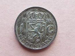 PIECE 1GULDEN PAYS BAS 1954 - [ 8] Monnaies D'or Et D'argent