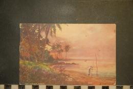 CP, Amérique, Antilles, JAMAIQUE Port Morant Jamaica Edition Raphael TUCK's Postcard OILETTE - Jamaïque