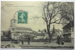ÉGLISE St CHRISTOPHE ET MONUMENT DU SOUVENIR - NEUFCHÂTEAU - Neufchateau