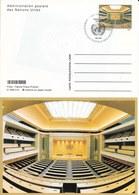 Onu, United Nations, Nations Unies, Bureau De Genève, Entier Postal 1998, Carte Fdc - Genf - Büro Der Vereinten Nationen