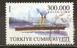 Turquie Turkey 2001 Bateau Ship Obl - 1921-... République
