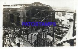 104649 PARAGUAY WAR GUERRA ESTACION DEL FERROCARRIL TREN STATION TRAIN POSTAL POSTCARD - Paraguay