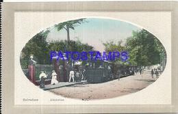 104650 PARAGUAY ASUNCION ESTACION DE TREN STATION TRAIN POSTAL POSTCARD - Paraguay