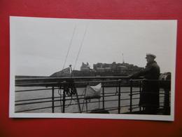 GUERNSEY CASTLE CORNET FROM S/S St HELIER PHOTO  11 X 7 - Lieux