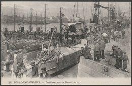 Torpilleurs Dans Le Bassin, Boulogne-sur-Mer, C.1910s - Lévy CPA LL19 - Boulogne Sur Mer