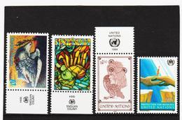 SRO55 VEREINTE NATIONEN UNO NEW YORK 1994 Michl 667/70 Satz ** Postfrisch - New York -  VN Hauptquartier