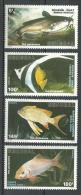 "Senegal YT 745 à 748 "" Poissons "" 1988 Neuf** - Senegal (1960-...)"