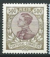 Portugal    - Yvert N° 166 *       Ai 27532 - 1910 : D.Manuel II