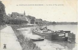 Conflans Saint Honorine La Seine Et Vue Générale - Conflans Saint Honorine