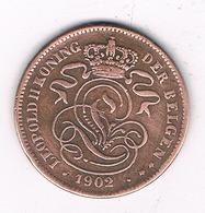 2 CENTIMES 1902 VL   BELGIE/8457/ - 1865-1909: Leopold II