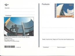 Onu, United Nations, Nations Unies, Bureau De Vienne, Entier Postal 1998, Neuf, Centre International De Vienne - Centre International De Vienne
