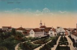 AK - BOHDANEC LAZNE (Bohdanetsch) - Teilansicht Mit Rathaus Und Kirche 1913 - Tschechische Republik