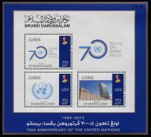 Brunei (2015) - Block -   /  70 Aniv. - UNO -ONU - Brunei (1984-...)