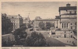 AK - WARSCHAU - Partie Am Theaterplatz 1941 - Polen