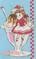 Télécarte Japon / 110-011 - MANGA - MY BIRTHDAY - ANIME Japan Phonecard - BD COMICS TK - 10907 - Comics