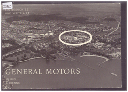 GRÖSSE 10x15cm - BIEL - BIENNE - FIRMA GENERAL MOTORS SUISSE S.A. - TB - BE Bern