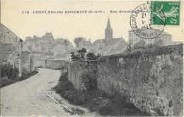 Conflans Saint Honorine Rue Arnoult Crapotte - Conflans Saint Honorine