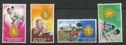 Kenya **  N° 147 à 150 - Services Sociaux - Kenya (1963-...)