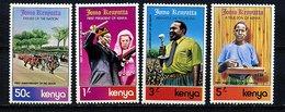 Kenya **  N° 143 à 146 - An. De La Mort Du Président Kenyatta - Kenya (1963-...)