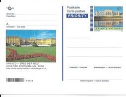 Onu, United Nations, Nations Unies, Bureau De Vienne, Entier Postal 1999, Neuf, Château De Schönbrunn - Centre International De Vienne