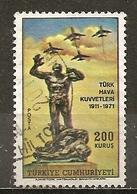 Turquie Turkey 1971 Statue Obl - 1921-... République