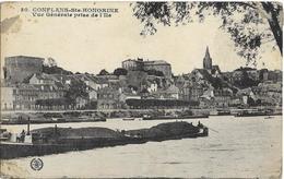 Conflans Saint Honorine Vue Generale Prise De L'ile - Conflans Saint Honorine