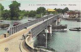 Conflans Saint Honorine Le Pont Panorama - Conflans Saint Honorine