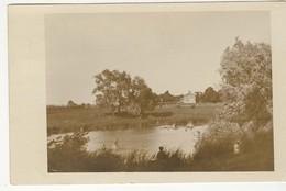 RICHMOND HILL?, Ontario, Canada, Farm Scene & Pond, 1909 RPPC, S/R Headord Ontario, York County - Ontario