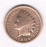 ONE CENT 1904  USA /8465/ - Émissions Fédérales