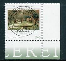 GERMANY Mi. Nr. 2974 Deutsche Malerei - ET Weiden - Eckrand Unten Rechts - Used - [7] République Fédérale