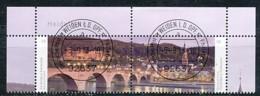 GERMANY Mi. Nr. 3028-3029  Stadtansicht Von Heidelberg - ET Weiden - Eckrand Oben Rechts - Used - Gebraucht