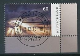 GERMANY Mi. Nr. 3044 Trauermarke  - ET Weiden - Eckrand Unten Rechts - Used - [7] République Fédérale