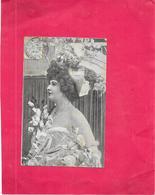 ARTISTE DES ANNEES 1900 - LIDIA - DELC6/ENCH - - Artistes