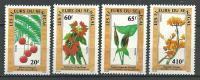 "Senegal YT 781 à 784 "" Fleurs ""1988 Neuf** - Senegal (1960-...)"