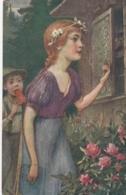 AK - Märchenkarte - Hänsel Und Gretel - 1914 - Märchen, Sagen & Legenden