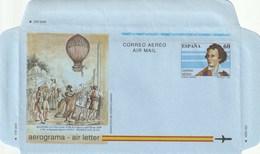 1992 España. Aerograma (Edif.217)**   1v - Enteros Postales