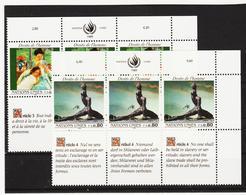 SRO69 VEREINTE NATIONEN UNO GENF 1989 Michl 180/81  ** Postfrisch - Genf - Büro Der Vereinten Nationen