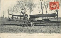 AVIATEUR - PILOTE - Eugène GILBERT - CLERMONT-FERRAND - CAMP DES GRAVANCHES - Aviatori
