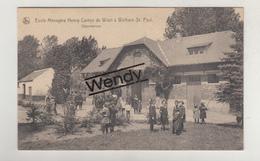 Walhain St Paul (école Ménagère Henry Carton De Wiart - Dépendances) - Walhain