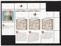 SRO70 VEREINTE NATIONEN UNO GENF 1990 Michl 192/93  ** Postfrisch - Genf - Büro Der Vereinten Nationen