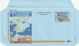 1995 España. Aerograma (Edif.220)**  1v Avión Avion Plane - Enteros Postales