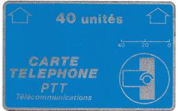 CARTE-n-HOLOGRAPHIQUE-40U-A 14-BLEU Texte Blanc-N° Endroit -Série F4 132845-NEUVE-TBE-RARE LUXE - France