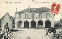 63 - MONTEL DE GELAT - LA HALLE - Frankreich