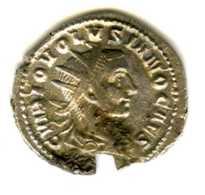 Monnaie Romaine De VOLUSIEN 251-253 - 5. L'Anarchie Militaire (235 à 284)
