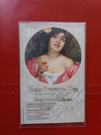 Anglo American Bar Roma - Premiate Specialita G. B. Faraglia - Vermouth, Liquore, Amaro, Tonico, Caffe, Punch Al Mandari - Pubblicitari