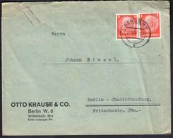 Germany Deutsches Reich Berlin 1937 / Paul Von Hindenburg 8 Pf / Otto Krause & Co. - Briefe U. Dokumente